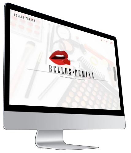 Bellus Femina Website iMac
