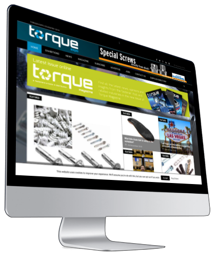 Torque Expo Website iMac